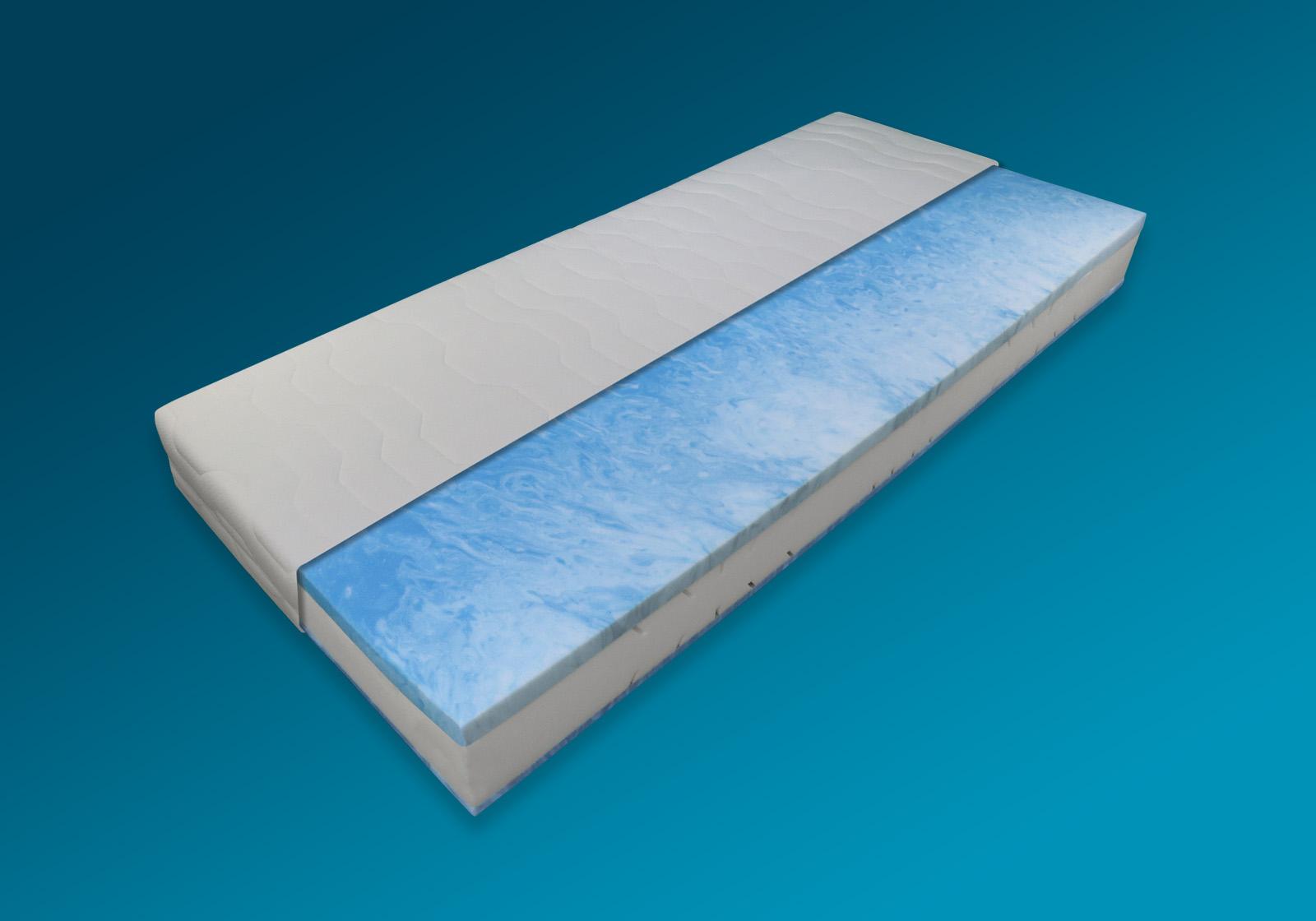 maxx 229 1382 160x200 kaltschaum gel h3 h he 21 cm ebay. Black Bedroom Furniture Sets. Home Design Ideas